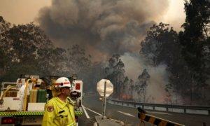 صورة لحرائق بأستراليا